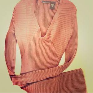 Victoria Secret sweater dress SZ M. Form fitting
